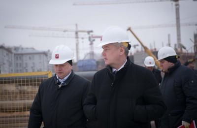 Сергей Собянин, мэр, Москва, метро, станция, столица