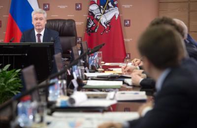 Сергей Собянин, мэр, спорт, Правительство, Москва, столица