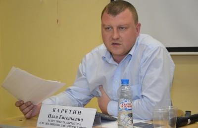 Руководитель «Жилищника» Илья Каретин
