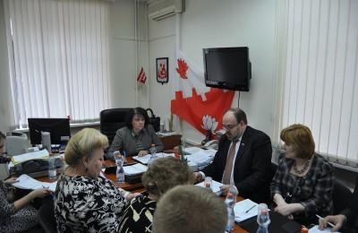 Очередное заседание Совета депутатов муниципального округа Нагорный прошло 23 апреля в зале заседаний управы района
