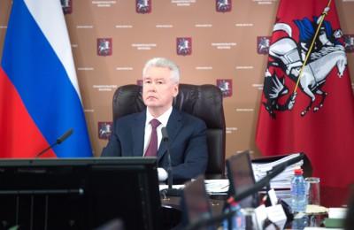 Сергей Собянин заявил, что субсидии выделят для установки шлагмаумов