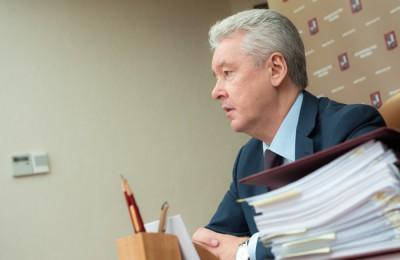 Мэр Москвы Сергей Собянин провёл заседание градостроительной комиссии