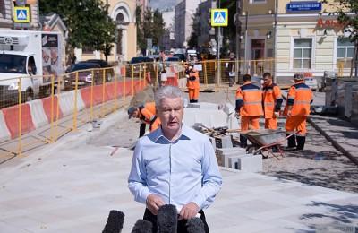 31 июля 2015 года мэр Москвы Сергей Собянин осмотрел ход комплексного благоустройства улицы Большая Ордынка