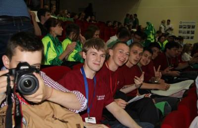 Активисты молодежной палаты Нагорного района приняли участие в летнем саммите