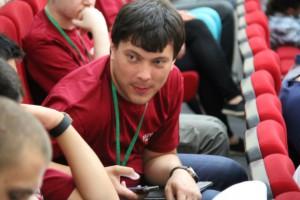 Председатель молодежной палаты района Нагорный Максим Казанский