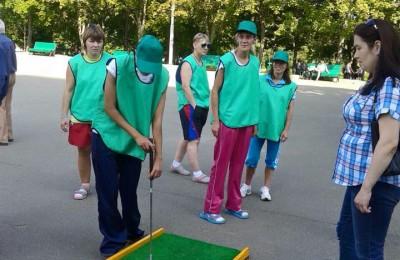 Среди предложенных видов спорта был гольф