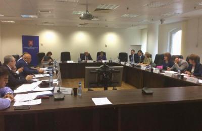 Сегодня в Вознесенском переулке прошло заседание совета муниципальных образований Москвы