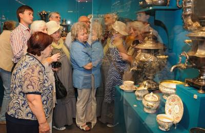 Выставка «Чудо старинного самовара» открылась в музее-заповеднике «Коломенское»