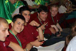 Активисты молодежной палаты Нагорного района