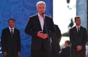 Сергей Собянин поздравил с запуском часов обратного отсчета до ЧМ-2018