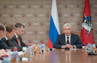 Сергей Собянин провёл очередное заседание ГЗК