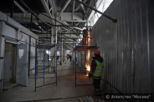На строящейся станции метро «Технопарк» в ЮАО началась отделка помещений