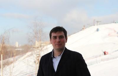 Депутат муниципального округа Нагорный Антон Виноградов