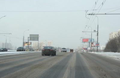 Каширское шоссе в ЮАО