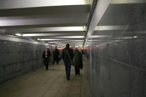Подземный пешеходный переход на станции Домодедовская