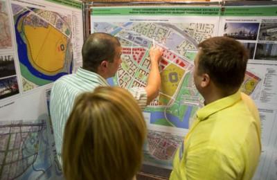 Жителей района познакомили с новым проектом межевания кварталов