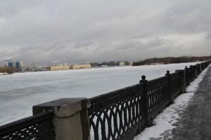 Набережная Москвы-реки в ЮАО