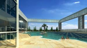 Проект центра водных развлечений «Арена легенд»