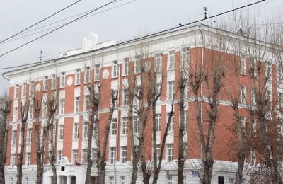 Одна из школ в Нагорном районе