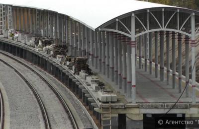 В Москве проводят реконструкцию на нескольких железнодорожных платформах