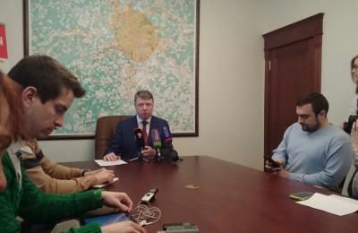 Владимир Черников провел в Москве пресс-конференцию по вопросам туризма