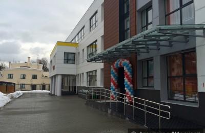 Один из новых детских садов в Москве