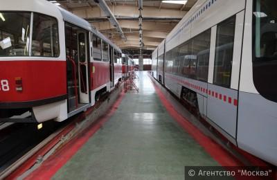 Тревожные кнопки и видеорегистраторы установят во всех трамваях столицы