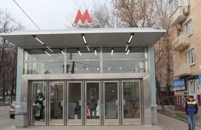 """Выход со станции метро """"Нагорная"""""""