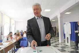 Сергей Собянин принял участие в предварительном голосовании в Москве