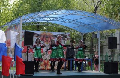 Один из концертов в Нагорном районе
