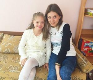 Одна из воспитанниц центра содействия семейному воспитанию Вера. Надежда. Любовь  -  Маша