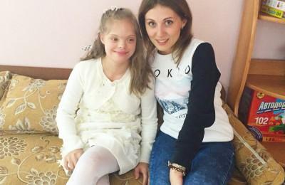 Одна из воспитанниц центра содействия семейному воспитанию «Вера. Надежда. Любовь» – Маша Одна из воспитанниц центра содействия семейному воспитанию «Вера. Надежда. Любовь» – Маша