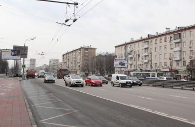В Нагорном районе привели в порядок дорожно-транспортную сеть