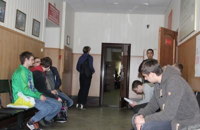 На одном из заседаний призывной комиссии в Нагорном районе