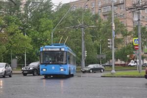 В Москве прошли соревнования среди водителей троллейбусов
