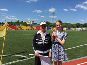 Ольга Сидорова показала выдающиеся спортивные результаты