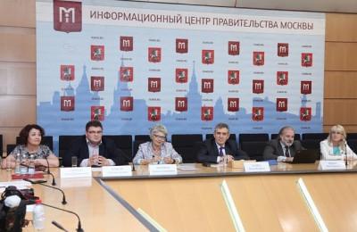 В Москве прошла пресс-конференция Департамента образования В Москве прошла пресс-конференция Департамента образования