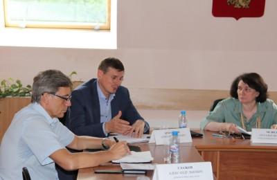 Депутаты рассмотрели проекты благоустройства