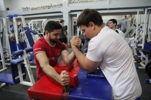 Спортсмены из района Москворечье-Сабурово
