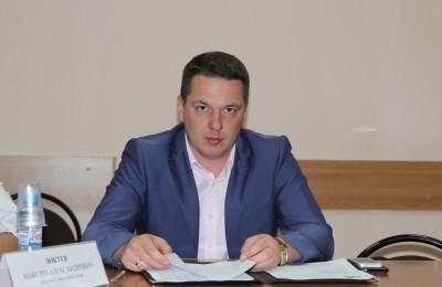 Депутат муниципального округа Максим Локтев