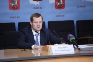 Константин Тимофеев на пресс-конференции