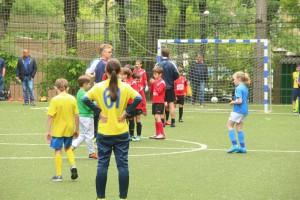 Летом жители Нагорного района уже приняли участие в нескольких футбольных турнирах