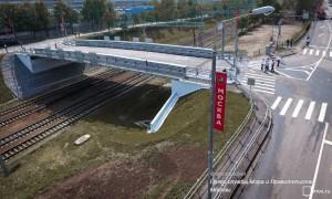 Новый путепровод в Нагорном районе