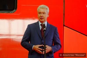 На МКЖД запущено движение поездов в режиме тестовой обкатки, рассказал мэр Москвы Сергей Собянин