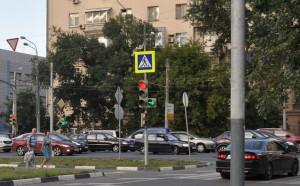 Новый светофор установили в Нагорном районе