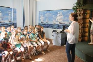 Литературное мероприятие в Нагорном районе