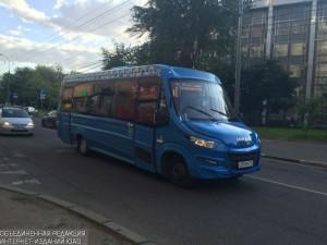 Новое маршрутное такси в ЮАО