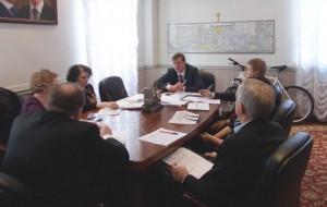 Одно из заседаний координационного совета в Нагорном районе