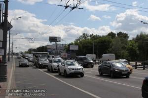 Варшавское шоссе в Нагорном районе
