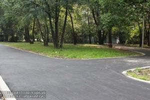 Ранее дорожные работы провели на улице Криворожская